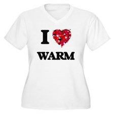 I love Warm Plus Size T-Shirt