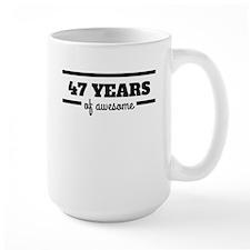 47 Years Of Awesome Mugs