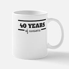 40 Years Of Awesome Mugs