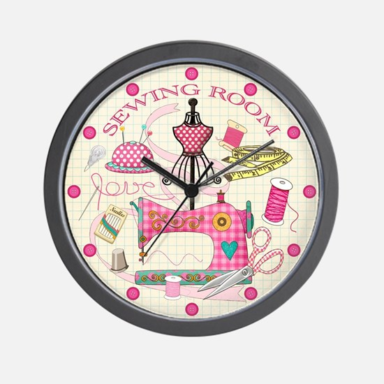 Sewing Room Wall Clock