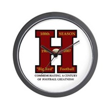 HHS 100th Football Season Wall Clock (Limited Ed.)