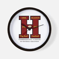 HHS 100th Football Season Wall Clock (Limited Ed.)