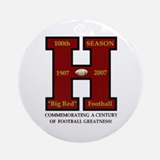 HHS 100th Football Season Ornament (Round)