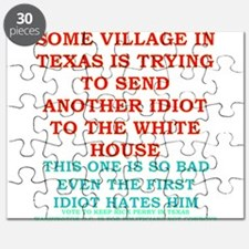 Rick-Perry-village-idiot-Texas Puzzle