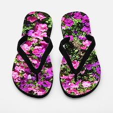 Pretty Floral Flip Flops
