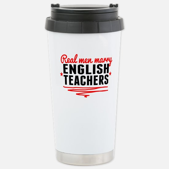 Real Men Marry English Teachers Mugs