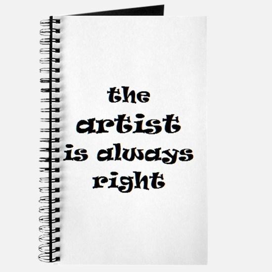 artist always right Journal