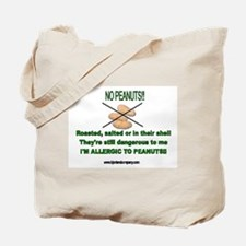 Peanut Allergy/Accesso Tote Bag