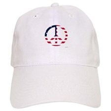 American Flag Peace Sign Betsy Ross Cap