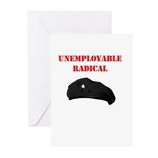 Unemployable Radical Greeting Cards (Pk of 10)