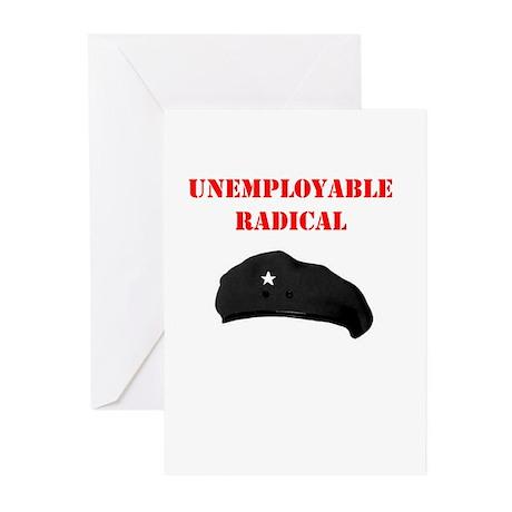 Unemployable Radical Greeting Cards (Pk of 10)