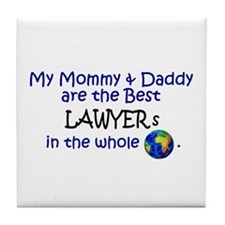 Best Lawyers In The World Tile Coaster