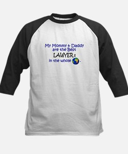 Best Lawyers In The World Kids Baseball Jersey