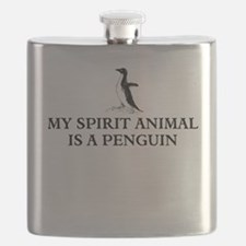 My spirit animal is a penguin Flask
