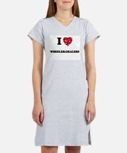 I love Wheeler-Dealers Women's Nightshirt