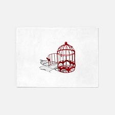 BirdHouse092110.png 5'x7'Area Rug