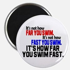 Swim Fast Magnet