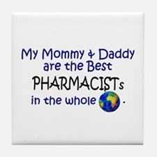 Best Pharmacists In The World Tile Coaster