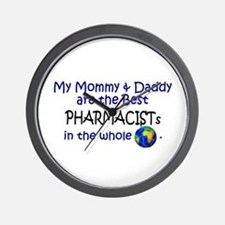 Best Pharmacists In The World Wall Clock