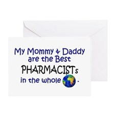 Best Pharmacists In The World Greeting Card