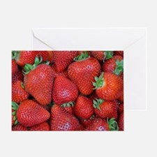 Funny Strawberries Greeting Card
