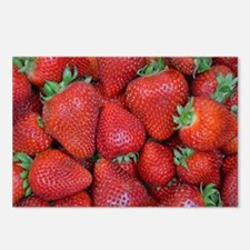Cute Strawberry Postcards (Package of 8)