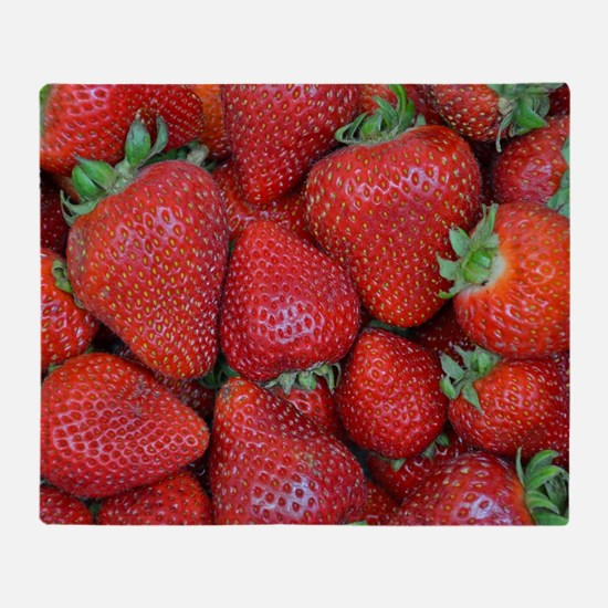 Cute Berries Throw Blanket