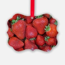 Cute Red food Ornament