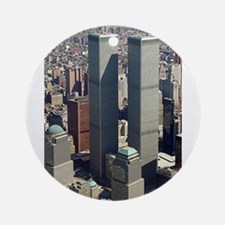 WTC-Complex-lge poster-8b5-cpJour Ornament (Round)