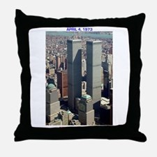 WTC-Complex-lge poster-8b5-cpJournal. Throw Pillow