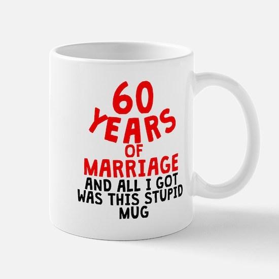 60 Years Of Marriage Mugs