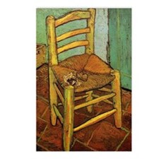 Vincent Chair with his Pi Postcards (Package of 8)