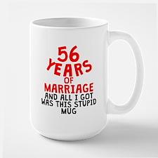 56 Years Of Marriage Mugs