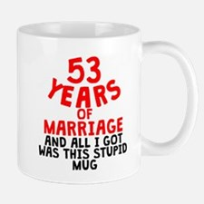 53 Years Of Marriage Mugs