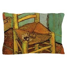 Vincent Chair with his Pipe by Van Gog Pillow Case