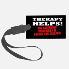 THERAPY HELPS Luggage Tag