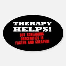 THERAPY HELPS Decal