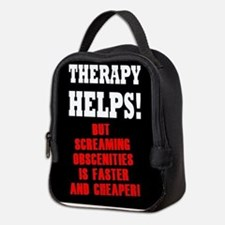 THERAPY HELPS Neoprene Lunch Bag