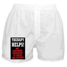 THERAPY HELPS Boxer Shorts