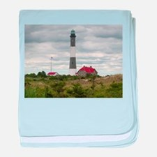 ROBERT_MOSES_STATE_PARK_LIGHTHOUSE_NY baby blanket