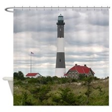 ROBERT_MOSES_STATE_PARK_LIGHTHOUSE_ Shower Curtain