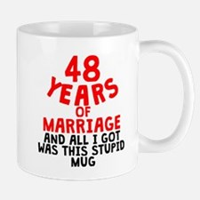 48 Years Of Marriage Mugs
