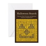 Halloween Search - Greeting Cards (Pk of 20)