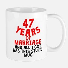 47 Years Of Marriage Mugs