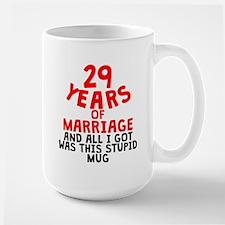 29 Years Of Marriage Mugs