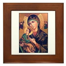 Virgin Mary - Our Lady of Per Framed Tile