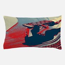 vintage retro record player Pillow Case