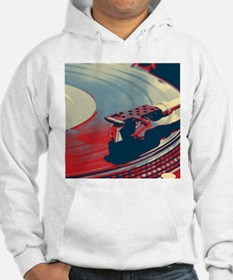 vintage retro record player Jumper Hoody