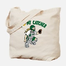 Love My Catcher Tote Bag