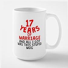 17 Years Of Marriage Mugs